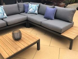 Corfu 5 Seater Outdoor Lounge