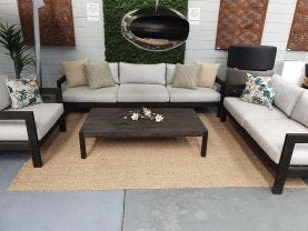 FLOOR MODEL- Cove 4pc Outdoor Lounge Setting