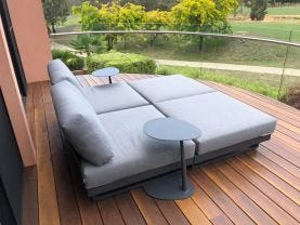 Fano 4pc Outdoor Lounger Setting