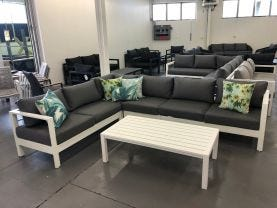 Atrani 6 Seater Lounge Setting With Coffee Table
