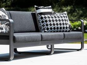 Reno 3pc Outdoor Aluminium  Lounge Setting