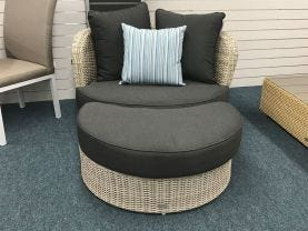 FLOOR MODEL-Knut 2pc Outdoor Lounge Setting