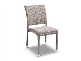Lucerne Armless Dining Chair -Moonscape Wicker