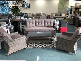 FLOOR MODEL- Somerset 4pc  Outdoor Lounge Setting
