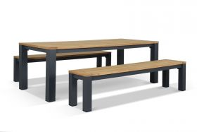 Outdoor Bench Setting -Corfu 6 Seater