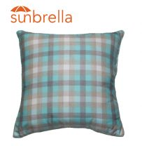 Outdoor Sunbrella Flannel Grey Cushion - 50 X 50 -NSW ONLY