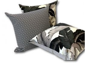 Aloha Palm & Diamond Outdoor Cushions 3 Pack