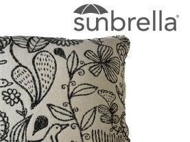 Outdoor Sunbrella  Waikki Cushion -50x50