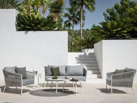 Gizella 4pc Outdoor Sofa Setting