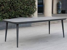 Leros Outdoor Ceramic Table -220 x 100cm