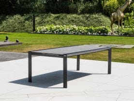 Mona Outdoor Ceramic Extension Dining  Table -220 / 330cm