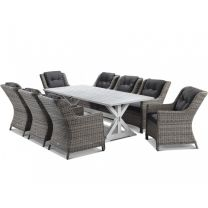Vogue with Summerset 9pc Outdoor Dining Setting