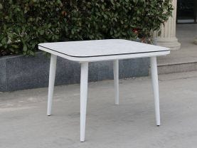 Leros Outdoor Ceramic Table -100 x 100cm