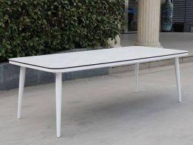 Leros Outdoor Ceramic Table -240 x 100cm
