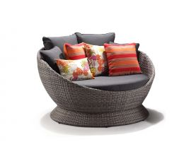 Bahama wicker Daybed