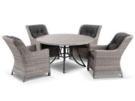 Luna with Summerset 5pc Dining Setting