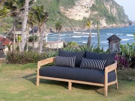 Ubud Outdoor 2 Seater Lounge