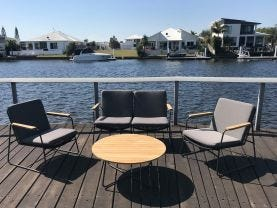 Buru 4pc Outdoor Lounge Setting