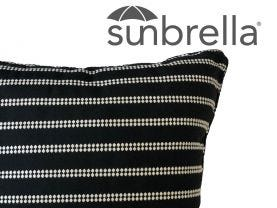 Outdoor Sunbrella Barbados Cushion -50x50