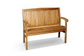 Kingston Outdoor Teak Bench 120cm