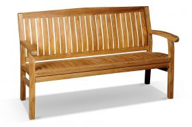 Kingston Teak Bench 150cm
