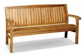 Kingston Teak Bench 180cm