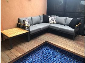 Roxby 5 Seater Outdoor Lounge Setting