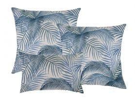 Seminyak Blue Outdoor Cushions 3 Pack