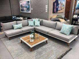FLOOR MODEL -Sorrento 5 Seater Outdoor Lounge Setting