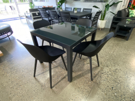 HURRY LIMITED STOCK QLD - Verde dining table with 4 Galati chairs