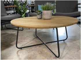 HURRY LIMITED STOCK QLD - Rome Natural Teak Coffee Table