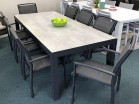 FLOOR MODEL- Verde 9pc Outdoor Dining Setting