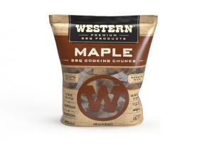 Western BBQ Wood Chunks -Maple