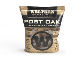 Western BBQ Wood Chunks -Post Oak