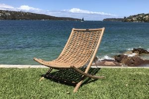 Kono Outdoor Deck Chair