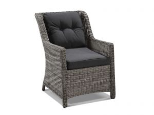 Outdoor Dining Chair -Moonscape / Canvas Coal