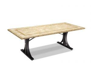 Verona 220 x 1 Natural Stone Dining Table