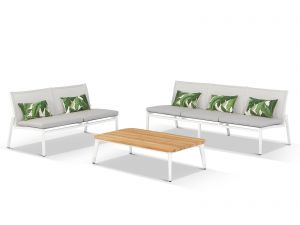Outdoor Timber Lounge