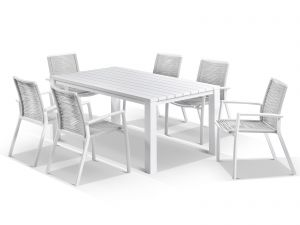 Capri  Table with Lucerne 11pc