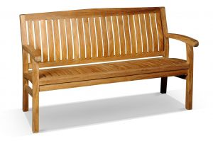 Kingston Teak Bench 150cm