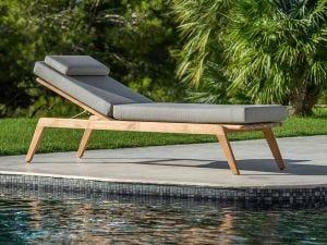 Ritz Outdoor Sunlounger