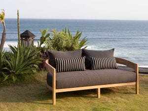Outdoor Timber Lounge -Hampton 4pc Sofa