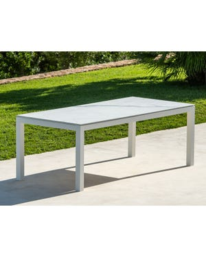 Danli Outdoor Ceramic Dining Table 220 x100cm