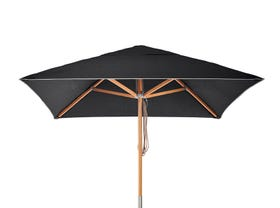 Sundial Umbrella 2m- Black