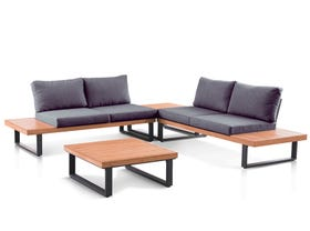 Dominica 4 Seater Outdoor Lounge- SYD ONLY