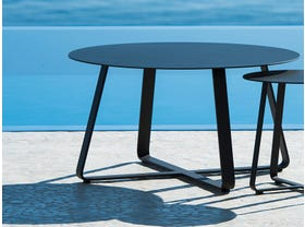 Elko 90cm Round Side Table