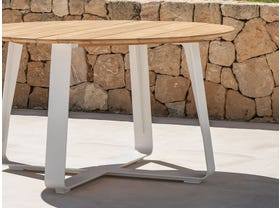Elko Round Teak Dining Table