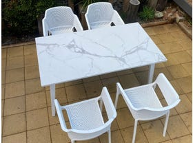 Franklin Table with Bailey Chairs 5pc- NSW ONLY