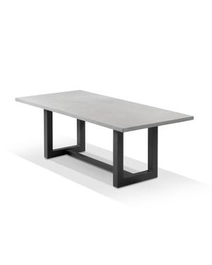 Geo Outdoor Cement Table -220 x 100cm