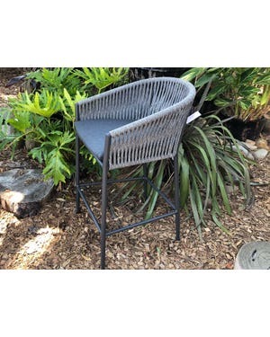 Gizella Outdoor Rope Bar Stool